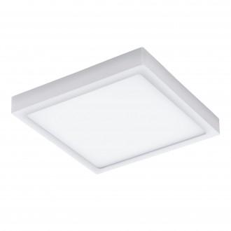 EGLO 96494 | Argolis Eglo zidna, stropne svjetiljke svjetiljka četvrtast 1x LED 2600lm 3000K IP44 bijelo