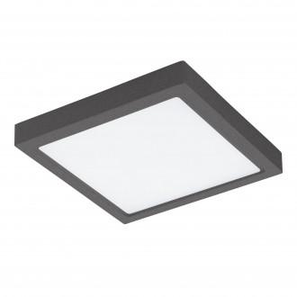 EGLO 96495 | Argolis Eglo zidna, stropne svjetiljke svjetiljka četvrtast 1x LED 2600lm 3000K IP44 antracit, bijelo