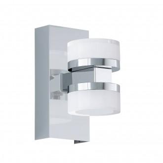 EGLO 96541 | Romendo Eglo zidna svjetiljka jačina svjetlosti se može podešavati 2x LED 1140lm 3000K IP44 krom, saten