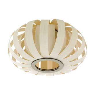 EGLO 96653 | Arenella Eglo stropne svjetiljke svjetiljka 1x E27 bijelo, bezbojno
