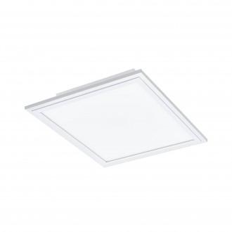 EGLO 96662 | EGLO-Connect-Salobrena Eglo spušteni plafon, stropne svjetiljke, visilice smart rasvjeta četvrtast daljinski upravljač jačina svjetlosti se može podešavati, sa podešavanjem temperature boje, promjenjive boje 1x LED 2000lm 2700 <-> 6500K