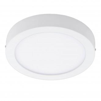 EGLO 96671 | EGLO-Connect-Fueva Eglo zidna, stropne svjetiljke smart rasvjeta okrugli jačina svjetlosti se može podešavati, sa podešavanjem temperature boje, promjenjive boje 1x LED 2700lm 2700 <-> 6500K bijelo