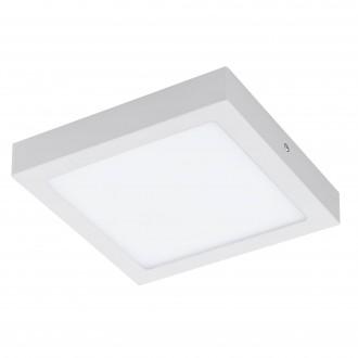 EGLO 96672 | EGLO-Connect-Fueva Eglo zidna, stropne svjetiljke smart rasvjeta četvrtast jačina svjetlosti se može podešavati, sa podešavanjem temperature boje, promjenjive boje 1x LED 2000lm 2700 <-> 6500K bijelo