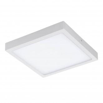 EGLO 96673 | EGLO-Connect-Fueva Eglo zidna, stropne svjetiljke smart rasvjeta četvrtast jačina svjetlosti se može podešavati, sa podešavanjem temperature boje, promjenjive boje 1x LED 2700lm 2700 <-> 6500K bijelo
