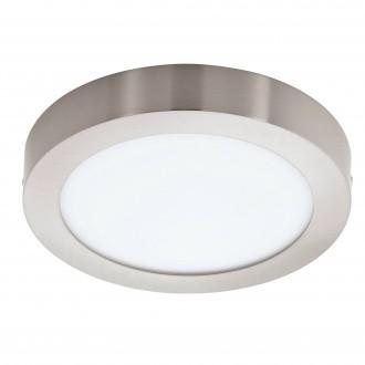 EGLO 96677 | EGLO-Connect-Fueva Eglo zidna, stropne svjetiljke smart rasvjeta okrugli jačina svjetlosti se može podešavati, sa podešavanjem temperature boje, promjenjive boje 1x LED 2000lm 2700 <-> 6500K poniklano mat, bijelo