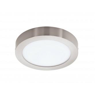 EGLO 96678 | EGLO-Connect-Fueva Eglo zidna, stropne svjetiljke smart rasvjeta okrugli jačina svjetlosti se može podešavati, sa podešavanjem temperature boje, promjenjive boje 1x LED 2700lm 2700 <-> 6500K poniklano mat, bijelo
