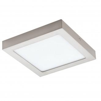 EGLO 96679 | EGLO-Connect-Fueva Eglo zidna, stropne svjetiljke smart rasvjeta četvrtast jačina svjetlosti se može podešavati, sa podešavanjem temperature boje, promjenjive boje 1x LED 2000lm 2700 <-> 6500K poniklano mat, bijelo
