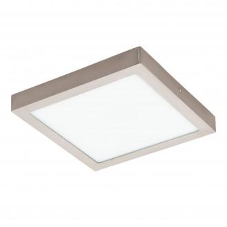 EGLO 96681 | EGLO-Connect-Fueva Eglo zidna, stropne svjetiljke smart rasvjeta četvrtast jačina svjetlosti se može podešavati, sa podešavanjem temperature boje, promjenjive boje 1x LED 2700lm 2700 <-> 6500K poniklano mat, bijelo