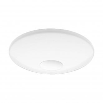EGLO 96684 | EGLO-Connect-Voltago Eglo zidna, stropne svjetiljke smart rasvjeta okrugli jačina svjetlosti se može podešavati, promjenjive boje 1x LED 2100lm 2700 <-> 6500K bijelo, učinak kristala