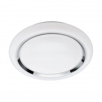 EGLO 96686 | EGLO-Connect-Capasso Eglo zidna, stropne svjetiljke smart rasvjeta okrugli jačina svjetlosti se može podešavati, promjenjive boje 1x LED 2100lm 2700 <-> 6500K bijelo, krom