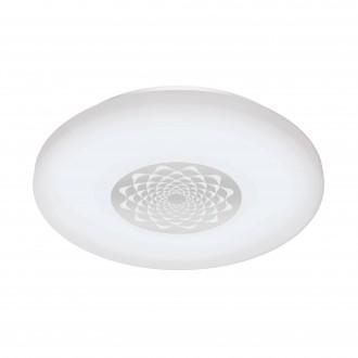 EGLO 96821 | EGLO-Connect-Capasso Eglo zidna, stropne svjetiljke smart rasvjeta okrugli jačina svjetlosti se može podešavati, promjenjive boje 1x LED 2100lm 2700 <-> 6500K bijelo, krom