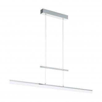EGLO 96866 | Tarandell Eglo visilice svjetiljka balansna - ravnotežna, sa visinskim podešavanjem, jačina svjetlosti se može podešavati 2x LED 3000lm 3000K krom, saten