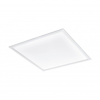 EGLO 96893 | Salobrena-2 Eglo spušteni plafon, stropne svjetiljke, visilice LED panel jačina svjetlosti se može podešavati 1x LED 4200lm 4000K bijelo