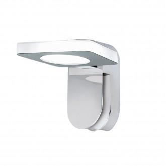EGLO 96936 | Cabus Eglo zidna svjetiljka 1x LED 420lm 3000K IP44 krom, bijelo