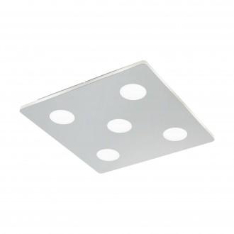 EGLO 96939 | Cabus Eglo stropne svjetiljke svjetiljka 5x LED 2100lm 3000K IP44 krom, bijelo
