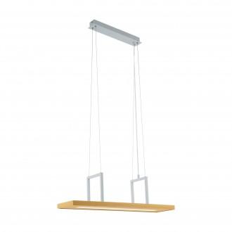 EGLO 96959 | Tondela Eglo visilice svjetiljka 1x LED 1080lm 3000K bijelo, smeđe