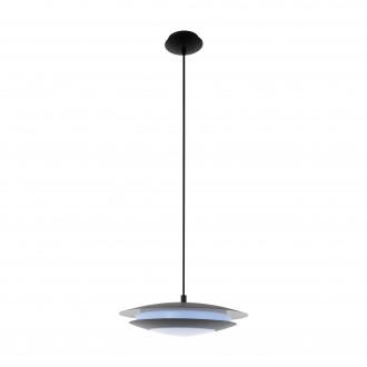 EGLO 96978 | EGLO-Connect-Moneva Eglo visilice smart rasvjeta jačina svjetlosti se može podešavati, promjenjive boje 1x LED 2100lm 2700 <-> 6500K crno, bijelo