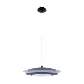 EGLO 96979 | EGLO-Connect-Moneva Eglo visilice smart rasvjeta jačina svjetlosti se može podešavati, promjenjive boje 1x LED 3400lm 2700 <-> 6500K crno, bijelo