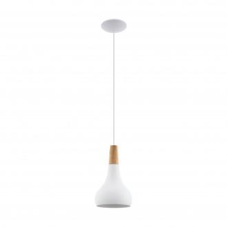 EGLO 96981   Sabinar Eglo visilice svjetiljka 1x E27 bijelo, smeđe