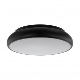 EGLO 96996 | EGLO-Connect-Moneva Eglo stropne svjetiljke smart rasvjeta okrugli jačina svjetlosti se može podešavati, promjenjive boje 1x LED 3400lm 2700 <-> 6500K crno, bijelo