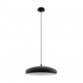 EGLO 96997 | EGLO-Connect-Moneva Eglo visilice smart rasvjeta jačina svjetlosti se može podešavati, promjenjive boje 1x LED 3400lm 2700 <-> 6500K crno, bijelo
