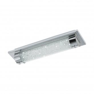 EGLO 97054 | Tolorico Eglo zidna, stropne svjetiljke svjetiljka 1x LED 1100lm 4000K IP44 krom, prozirno