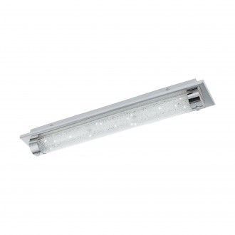 EGLO 97055 | Tolorico Eglo zidna, stropne svjetiljke svjetiljka 1x LED 2500lm 4000K IP44 krom, prozirno