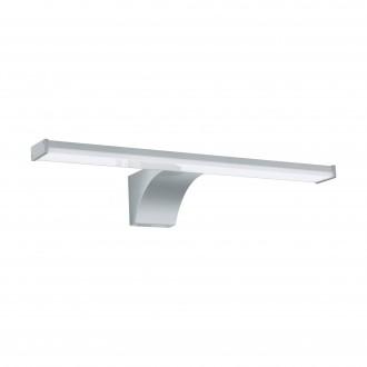 EGLO 97059 | Pandella-2 Eglo ovetljenje ogledala svjetiljka sa senzorom 1x LED 710lm 4000K IP44 srebrno, bijelo, krom