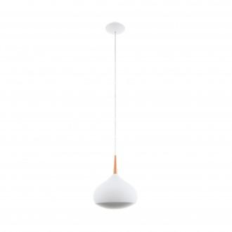 EGLO 97087 | EGLO-Connect-Comba Eglo visilice smart rasvjeta jačina svjetlosti se može podešavati, promjenjive boje 1x LED 2100lm 2700 <-> 6500K bijelo, mesing
