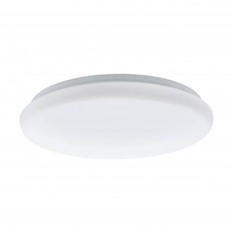 EGLO 97101 | Giron-M Eglo zidna, stropne svjetiljke svjetiljka okrugli sa senzorom 1x LED 1200lm 3000K bijelo