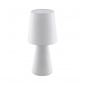 EGLO 97131 | Carpara Eglo stolna svjetiljka 47cm sa prekidačem na kablu 2x E27 bijelo