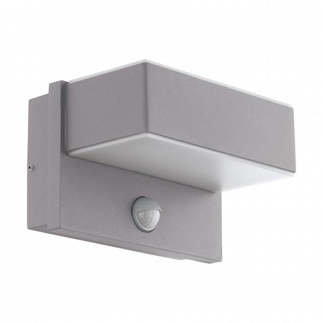 EGLO 97159   Azzinano Eglo zidna svjetiljka sa senzorom 2x LED 1200lm 3000K IP44 srebrno, bijelo