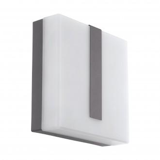 EGLO 97219 | EGLO-Connect-Torazza Eglo zidna smart rasvjeta četvrtast jačina svjetlosti se može podešavati 1x LED 1400lm 3000K IP44 antracit, saten
