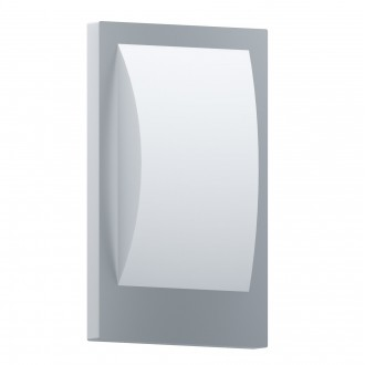 EGLO 97239 | EGLO-Connect-Verres Eglo zidna smart rasvjeta oblik cigle 1x E27 806lm 3000K IP44 bijelo, srebrno
