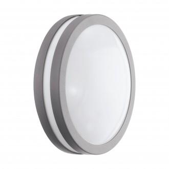 EGLO 97299 | EGLO-Connect-Locana Eglo zidna, stropne svjetiljke smart rasvjeta okrugli jačina svjetlosti se može podešavati 1x LED 1400lm 3000K IP44 srebrno, bijelo