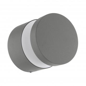 EGLO 97301   Melzo Eglo zidna, stropne svjetiljke svjetiljka 1x LED 950lm 3000K IP44 srebrno, prozirna, bijelo