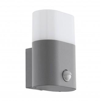 EGLO 97315 | Favria Eglo zidna svjetiljka sa senzorom 1x LED 1250lm 3000K IP44 srebrno, bijelo