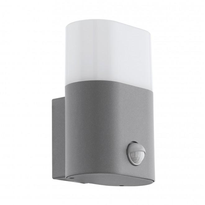 EGLO 97315   Favria Eglo zidna svjetiljka sa senzorom 1x LED 1200lm 3000K IP44 srebrno, bijelo