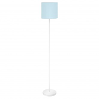 EGLO 97391 | Eglo_Pasteri_Pastel_LB Eglo podna svjetiljka 157,5cm sa nožnim prekidačem 1x E27