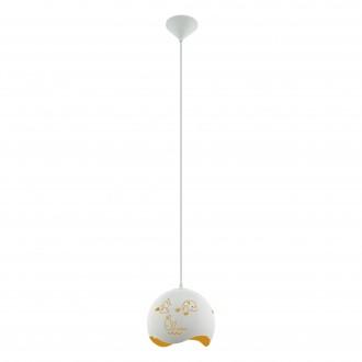 EGLO 97392 | Laurina Eglo visilice svjetiljka 1x E27 bijelo, narančasto