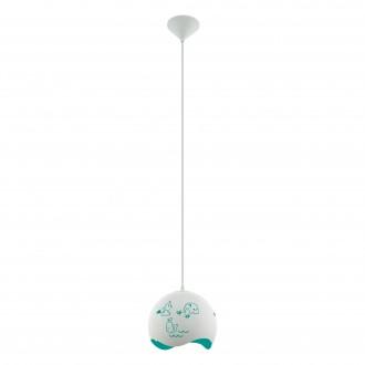 EGLO 97393 | Laurina Eglo visilice svjetiljka 1x E27 bijelo, plavo
