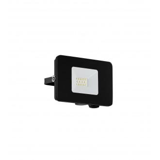 EGLO 97455 | Faedo Eglo reflektor svjetiljka četvrtast elementi koji se mogu okretati 1x LED 900lm 4000K IP65 crno, prozirna