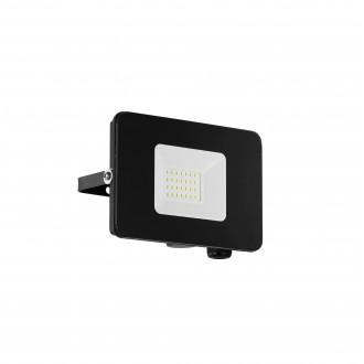 EGLO 97456 | Faedo Eglo reflektor svjetiljka četvrtast elementi koji se mogu okretati 1x LED 1800lm 4000K IP65 crno, prozirna