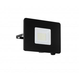 EGLO 97457 | Faedo Eglo reflektor svjetiljka četvrtast elementi koji se mogu okretati 1x LED 2750lm 4000K IP65 crno, prozirna