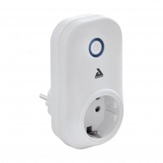 EGLO 97476 | Eglo kontrolna jedinica Plug smart rasvjeta s prekidačem s utičnicom, Bluetooth bijelo