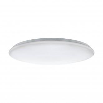 EGLO 97528 | Giron-LED Eglo stropne svjetiljke svjetiljka okrugli daljinski upravljač jačina svjetlosti se može podešavati, sa podešavanjem temperature boje 1x LED 7800lm 3000 <-> 5000K bijelo