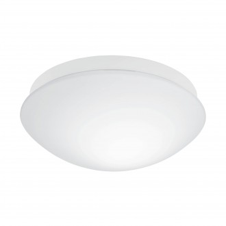 EGLO 97531 | Bari-M Eglo zidna, stropne svjetiljke svjetiljka sa senzorom 1x E27 IP44 bijelo, opal