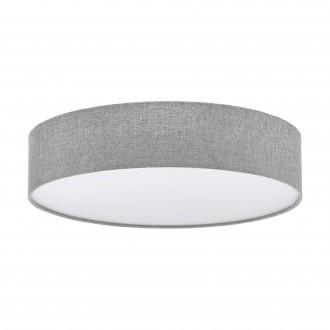 EGLO 97613 | Eglo-Pasteri-GR Eglo stropne svjetiljke svjetiljka 3x E27 sivo, bijelo, nikel