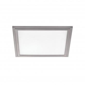 EGLO 97636 | Salobrena-2 Eglo stropne svjetiljke LED panel 1x LED 2100lm 4000K bijelo, srebrno