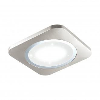 EGLO 97664 | Puyo-S Eglo zidna, stropne svjetiljke svjetiljka 1x LED 3400lm 3000K poniklano mat, bijelo, učinak kristala